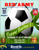 FC ROMANIA VISIT HONEYCROFT THIS WEEKEND - FREE MATCHDAY PROGRAMME DOWNLOAD HERE