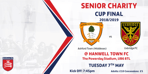CUP FINAL TOMORROW EVENING