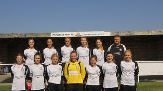 Portishead Town Ladies End Royal Wootton Bassetts 100% Record