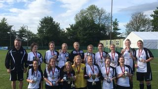 Portishead Town Ladies win the double