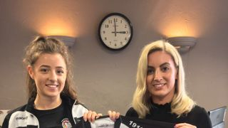 Robert John Hairdressing Sponsors The New Ladies Kit