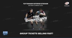Tickets for Saracens v Harlequins @ Tottenham Hotspur Stadium - Saturday 28 March 2020