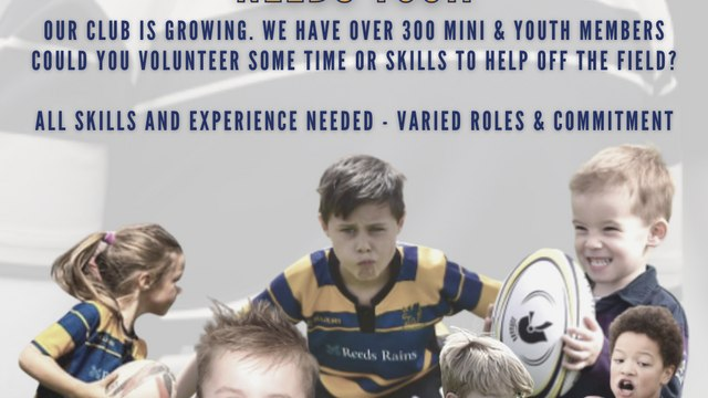 Our Mini & Youth Committee Needs You!!