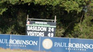 First team v Upminster 21st September 2019