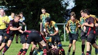 Under 16s vs. Wymondham, 13 Sep 2015