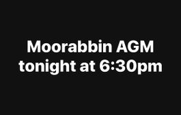 Moorabbin AGM