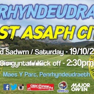 CPD Penrhyndeudraeth 3-3 St Asaph City