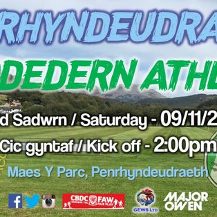 CPD Penrhyndeudraeth 3-2 Bodedern Athletic