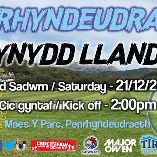 CPD Penrhyndeudraeth 2-0 Mynydd Llandegai