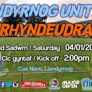Llandyrnog United 0-1 CPD Penrhyndeudraeth