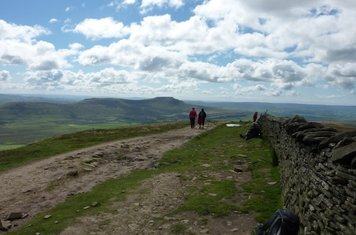 Look how far Ingleborough is away