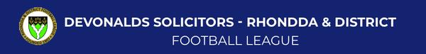 DEVONALDS SOLICITORS - RHONDDA & DISTRICT FOOTBALL LEAGUE