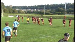 Charlie Reynolds try Vs Brixham RFC