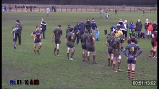 Craig Britton try Vs Worcester Wanderers