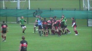 Eamonn Rees try Vs Bracknell RFC