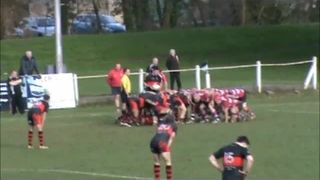 Charlie Reynolds 1st try Vs Lydney RFC