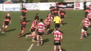 Charlie Reynolds 2nd try Vs Lydney RFC