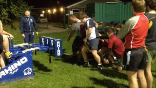 Basildon RFC - Scrummage with Graham Smith