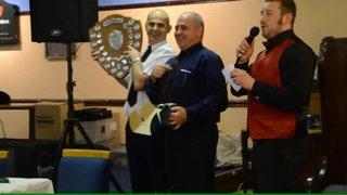 Sam Haslam receives player of year award 2011/12