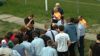 Egg Hunter on U16s' Amsterdam Tour 2014