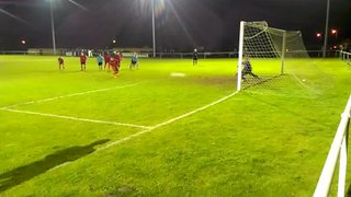 Newark Town v Real United (20/03/2013): Garry Attwood's last minute penalty save