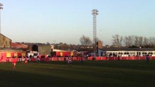 St Neots Goal v Banbury 30 Nov 2013