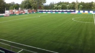 The new 3g pitch at Coles Lane