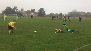 22nd of Nov Jets vs Eldon -  Warren tackled