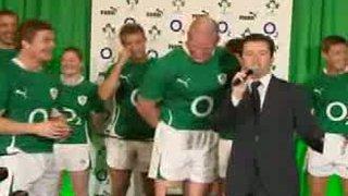 Irish Rugby Shirt Launch