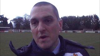 Chatham vs HTFC post match interview