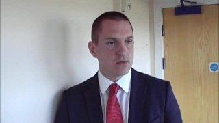 HTFC vs Maldon & Tiptree post match interview