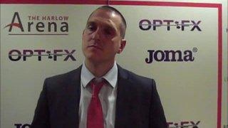 HTFC vs Barkingside post-match interview (Danny Chapman)