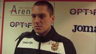 HTFC vs Merstham post-match interview