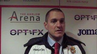 HTFC vs Heybridge Swifts post-match interview