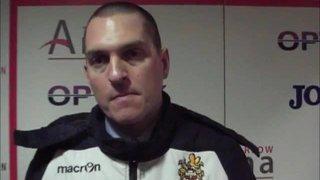 HTFC vs AFC Sudbury post-match interview
