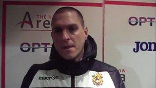 HTFC vs Thamesmead Town post-match interview