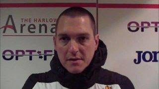 HTFC vs AFC Hornchurch post-match interview