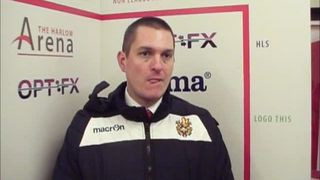 HTFC vs Thurrock post-match interview
