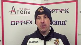 HTFC vs Soham Town Rangers post-match interview