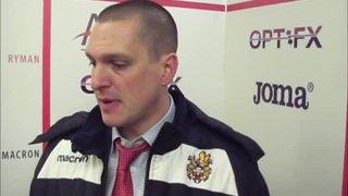 HTFC vs Cray Wanderers post-match interview