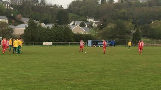 Penrhyndeudraeth 0-2 Holywell Town - Tom McElmeel's free kick and Steve Thomas' disallowed goal for offside