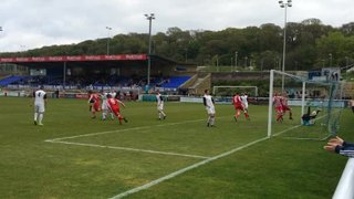 Holywell Town 3-2 Llanrug United - Mawddach Cup Final.  Matty Harvey gets Town's equaliser with a great header!