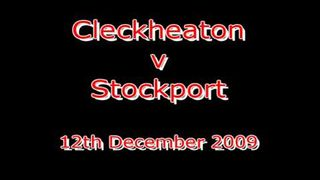 Cleckheaton v Stockport 121209 - Winning Try