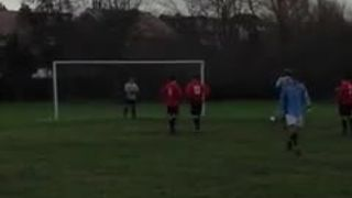 Will Bush Penalty vs. Churchton Jaguars FC (25.1.15)