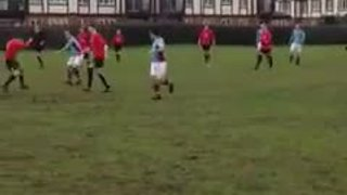 Alex Medlicott effort vs. Churchtown Jaguars FC (25.1.15)