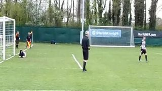 Norfolk Women's Cup - Penalties and Celebrations