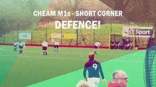 Short corner defence v Surbiton - Stumples saves!