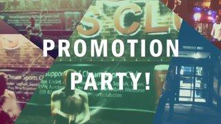 Men's 1s Promotion Party!