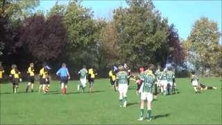 Saffron Walden u14s v Braintree - 27 Oct 13 - Second Half highlights