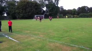 1st goal from the match won 6-2........Sorry ,the battery run out so I couldn't record more goals :(